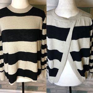 Banana republic linen blend sweater fits size M